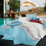 40% OFF - 7 Piece - 100% Embroidered Egyptian Cotton Sheet Sets