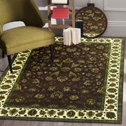 Rugsville Kohinoor Brown Beige Wool & Silk Rug