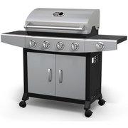 Shop Broil chef 4 Burner LP Barbecue with Side Burner Propane Gas Gril