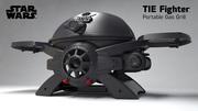 Star Wars Tie Fighter SW-2201 Portable LP Gas Grill!!
